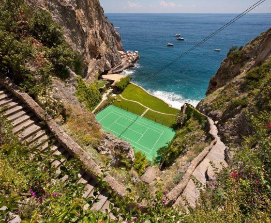 Oceanfront tennis villa in Italy (II San Pietro di Positano)