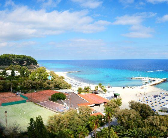 Beachfront Tennis resort in Halkidiki, Greece (Sani Resort)