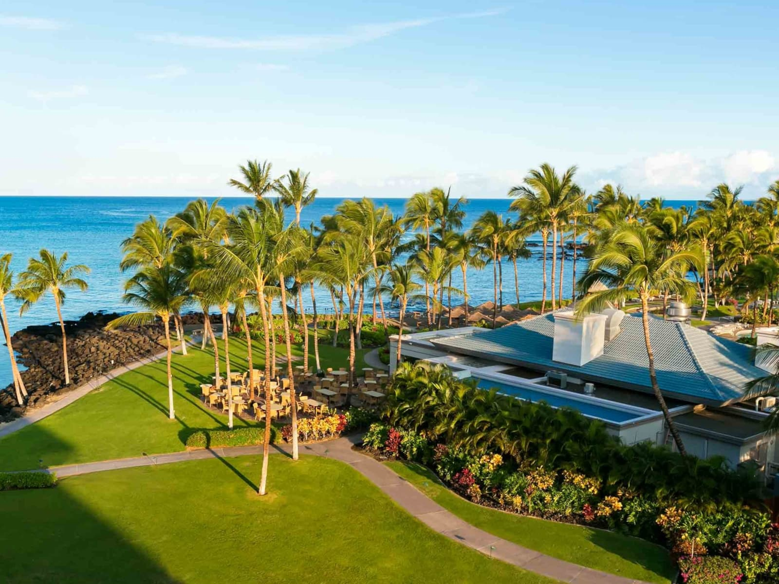 The Fairmont Orchid - one of the best tennis resorts for your tennis holidays in Hawaii