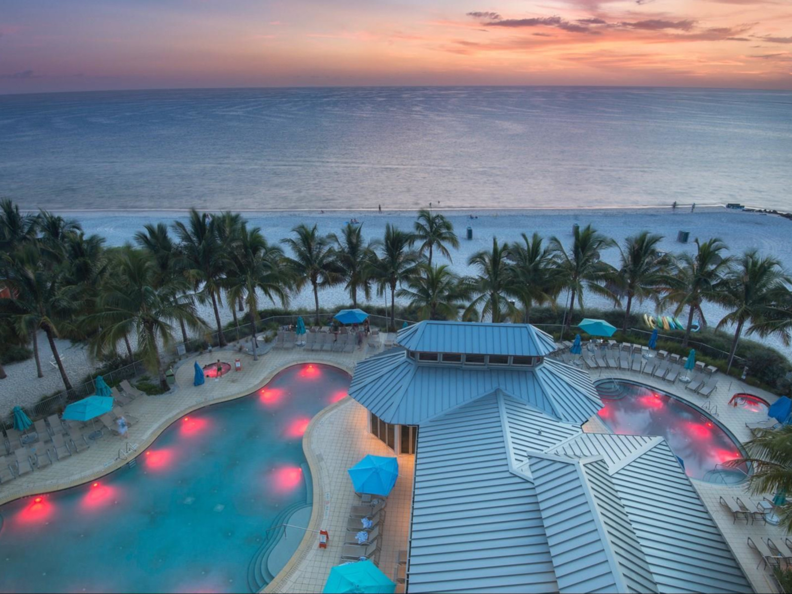 Naples Beach Hotel & Golf Club - one of the best tennis resorts for your tennis holidays in Florida