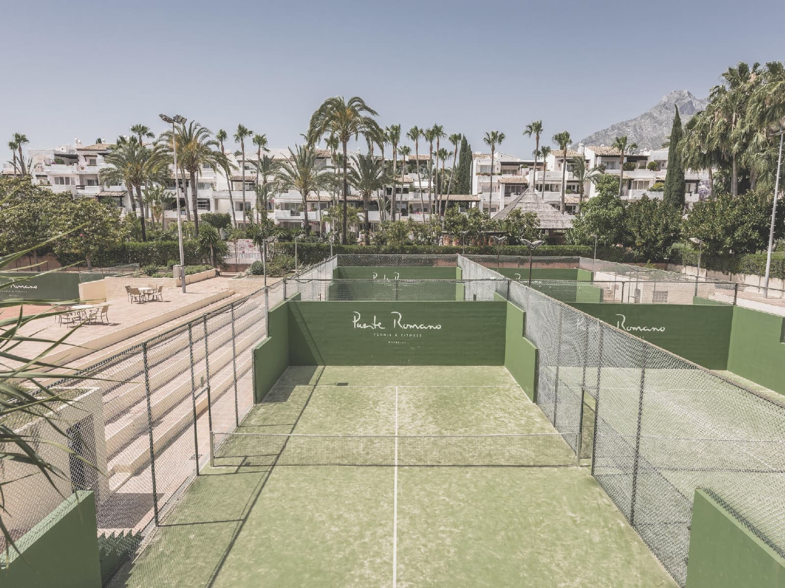 Puente Romano Beach Resort - one of the best tennis resorts for your tennis holidays in Marbella, Spain