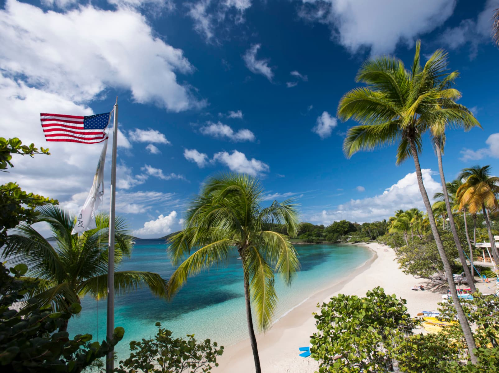 The Caneel Bay Resort - one of the best tennis resorts for your tennis holidays in U.S. Virgin Islands