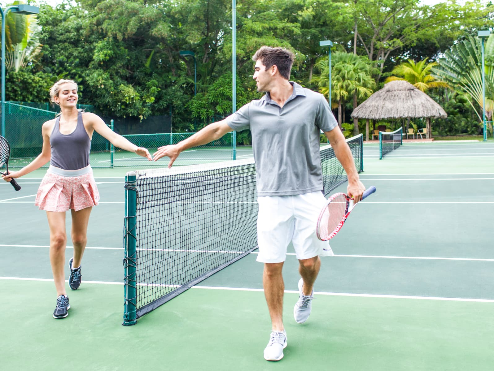 The Couples Swept Away - one of the best tennis resorts for your tennis holidays in Jamaica