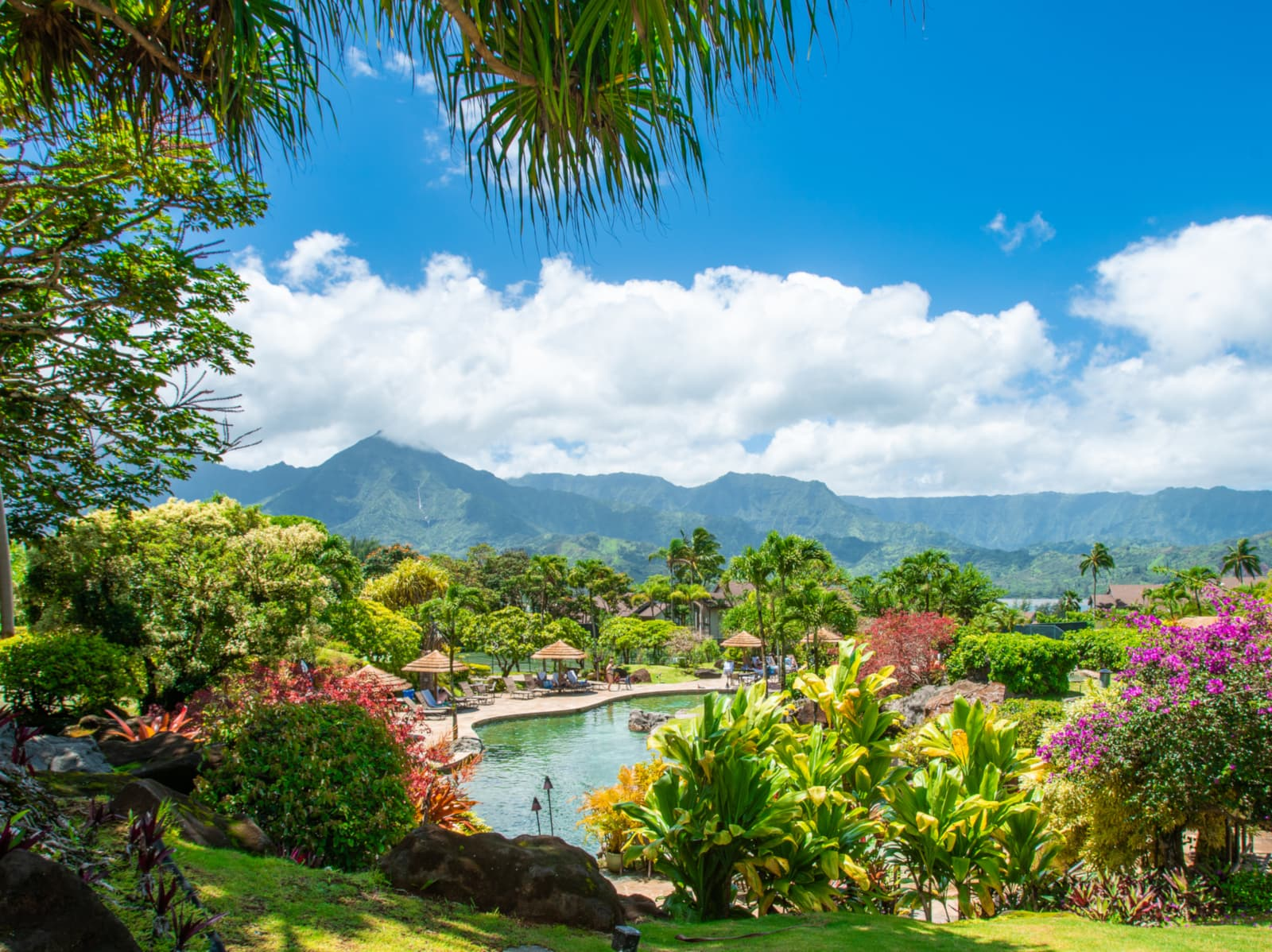 The Hanalei Bay Resort - one of the best tennis resorts for your tennis holidays in Hawaii