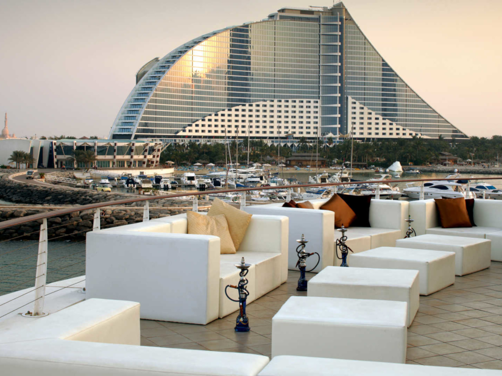 The Jumeirah Beach Hotel - one of the best tennis resorts for your tennis holidays in Dubai