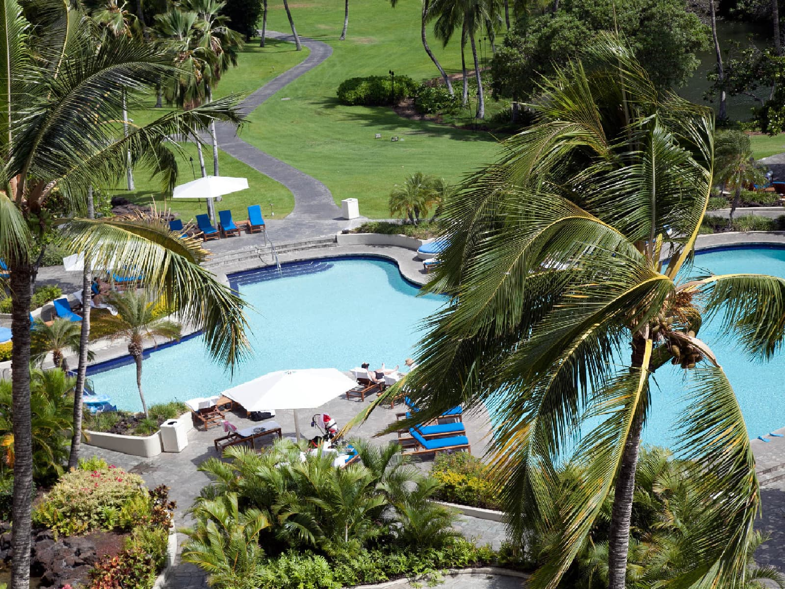 The Mauna Lani Bay Hotel & Bungalows - one of the best tennis resorts for your tennis holidays in Hawaii