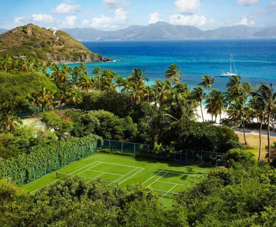 Beachfront tennis breaks in British Virgin Islands (The Peter Island Resort & Spa)