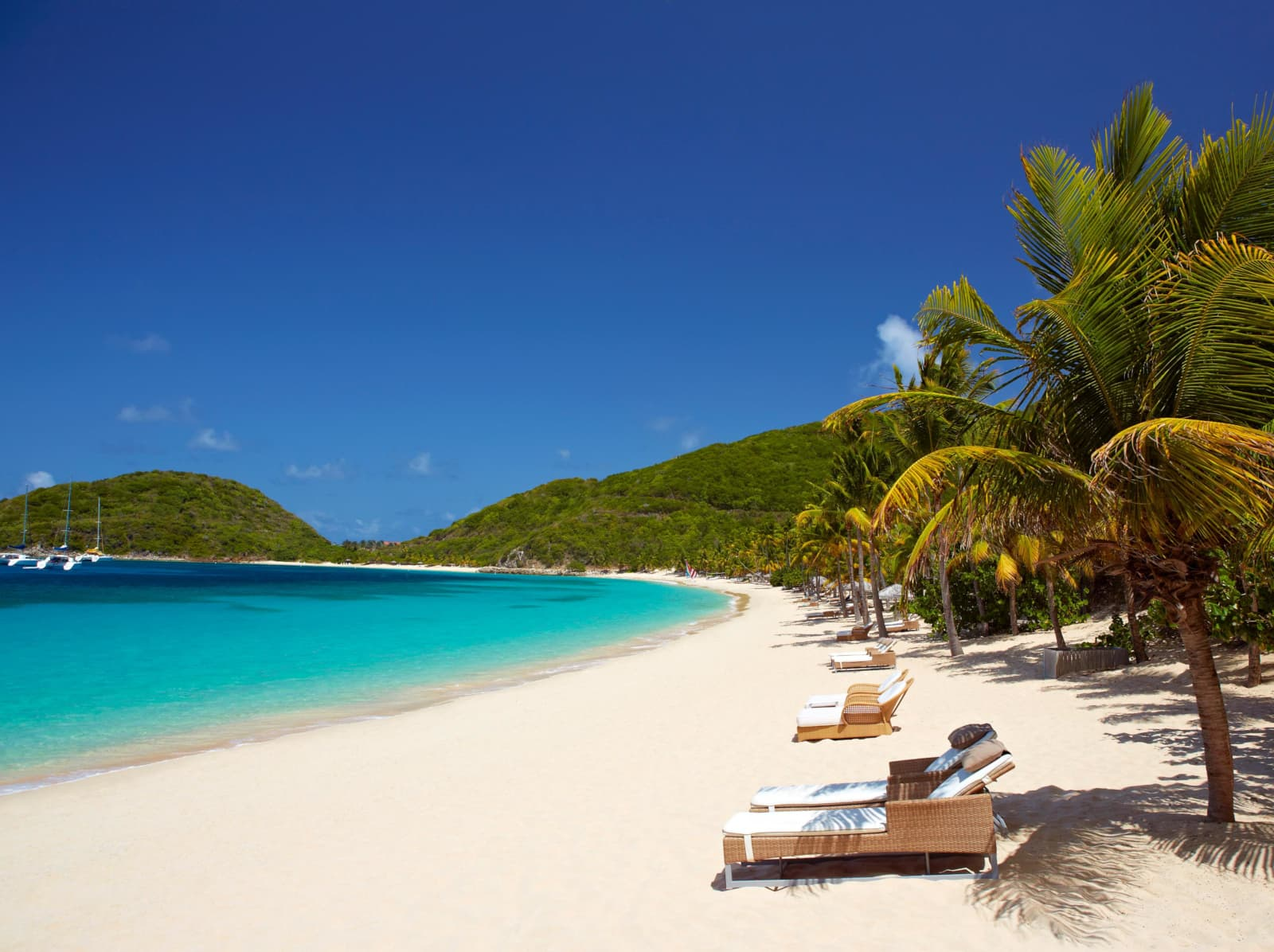 The Peter Island Resort and Spa - one of the best tennis resorts for your tennis holidays in British Virgin Islands