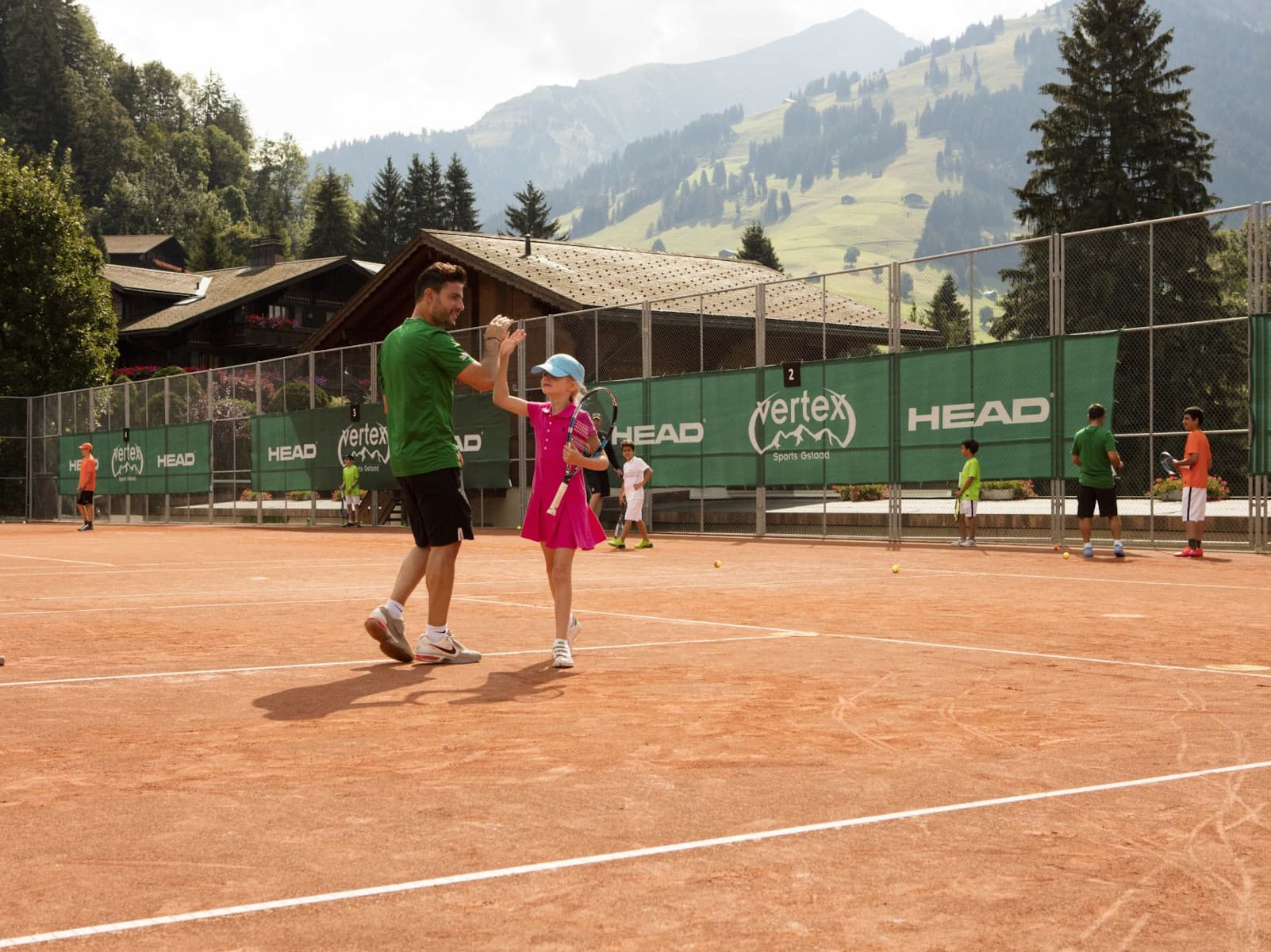 Gstaad Palace - one of the best tennis resorts for your tennis holidays in Switzerland