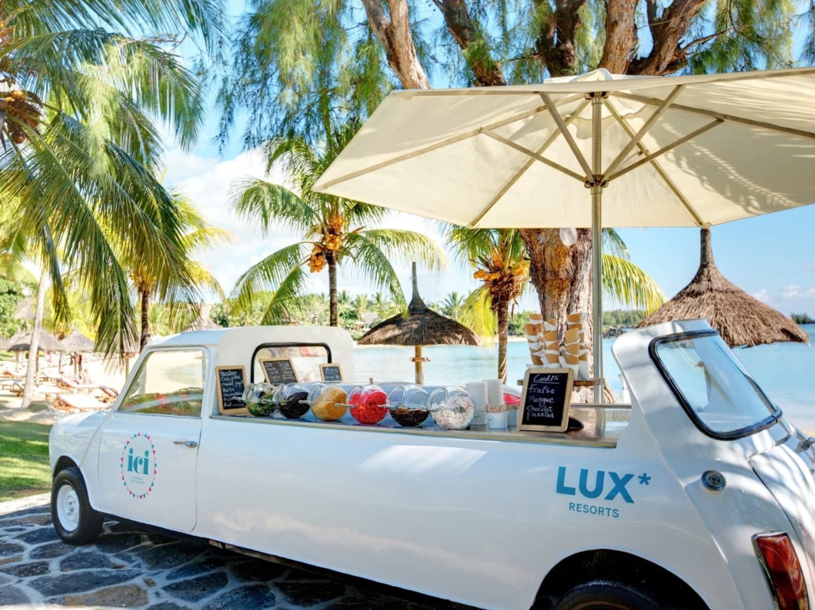 LUX* Grand Gaube - one of the best tennis resorts for your tennis holidays in Mauritius