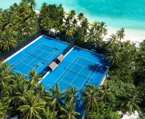 Tennis holidays in Maldives (One & Only Reethi Rah)