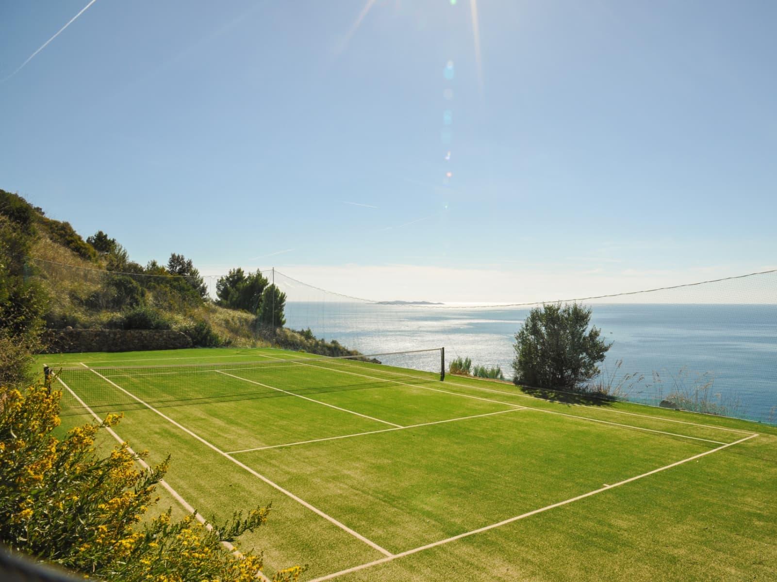 Tennis villa in Tuscany, Italy (Spini Bianchi)