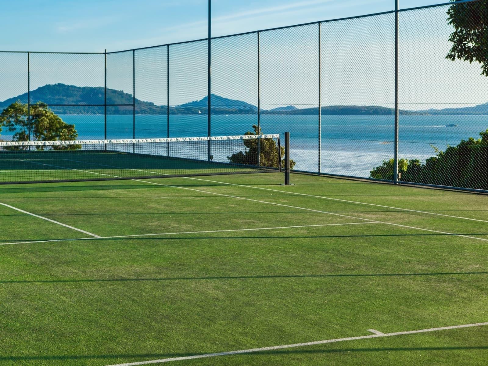 Oceanfront Tennis villa in Phuket, Thailand (Villa Sawarin)