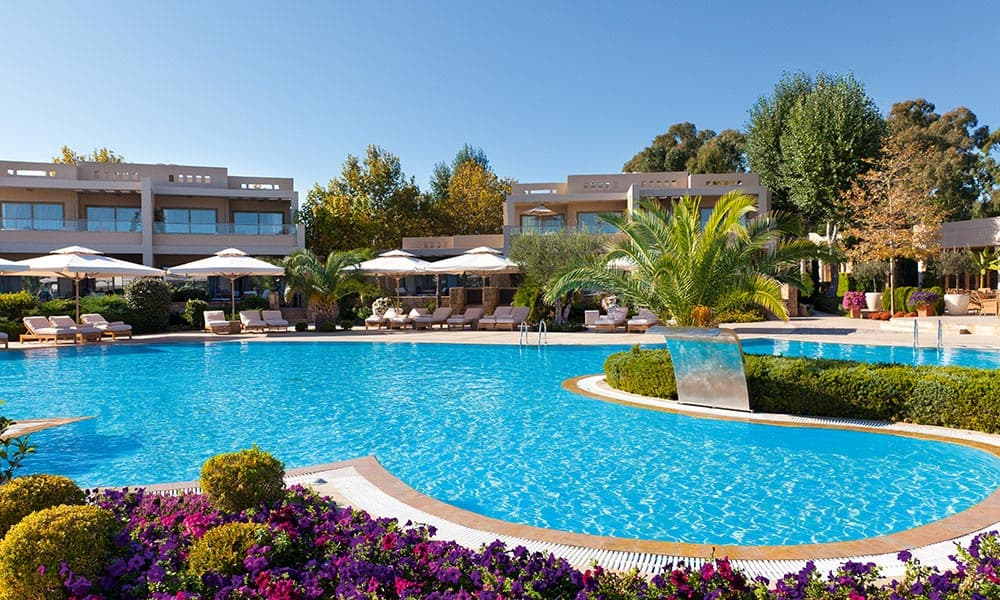 Sani Resort - one of the best tennis resorts for your tennis holidays in Halkidiki, Greece