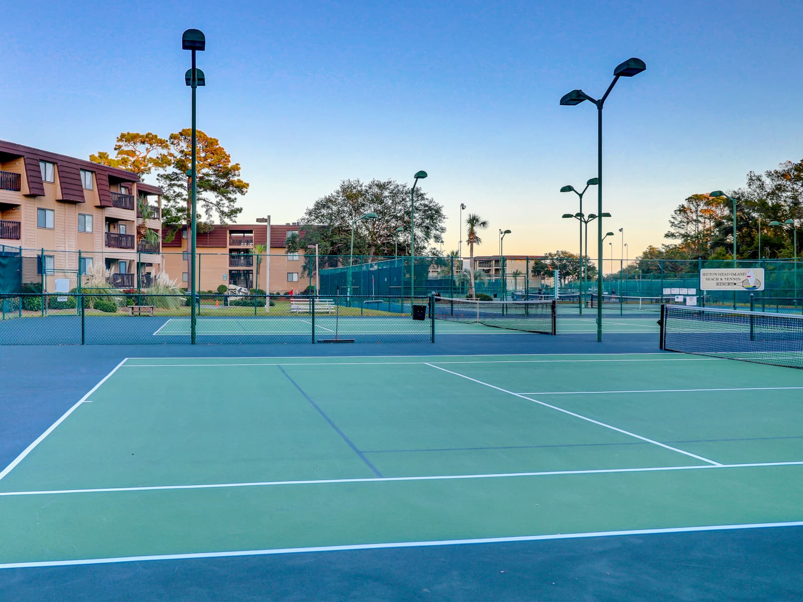 Hilton Head Island Beach & Tennis Resort - one of the best tennis resorts for your tennis holidays in South Carolina