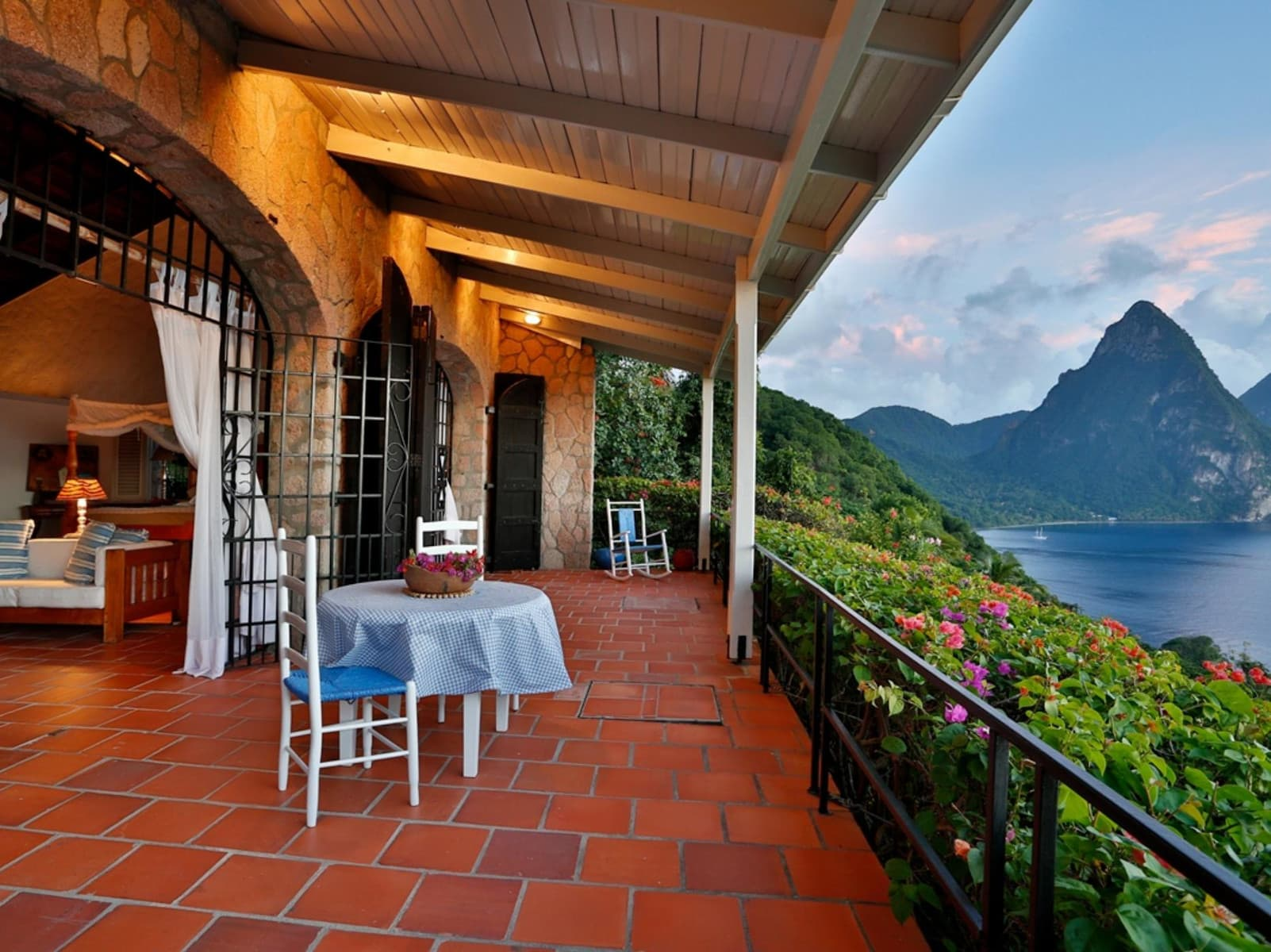 Tamarind House - one of the best tennis resorts in St. Lucia