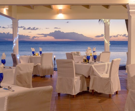 Restaurants & Bars - Curtain Bluff - one of the best tennis resorts for your tennis holidays in Antigua