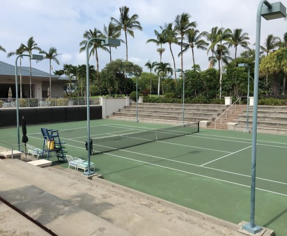 Tennis Program - The Fairmont Orchid - one of the best tennis resorts for your tennis holidays in Hawaii