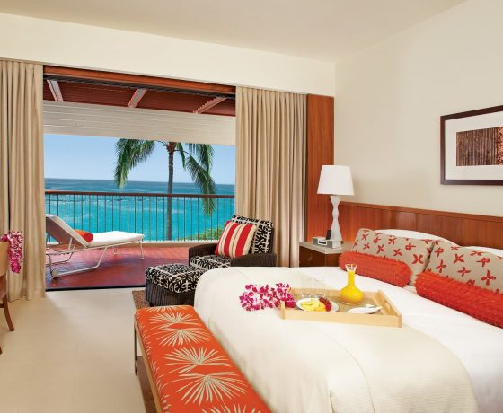 Rooms & Suites - Mauna Kea Beach Hotel Hawaii - one of the best tennis resorts for your tennis holidays in Hawaii