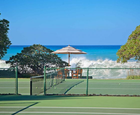 Tennis Program - Mauna Kea Beach Hotel Hawaii - one of the best tennis resorts for your tennis holidays in Hawaii