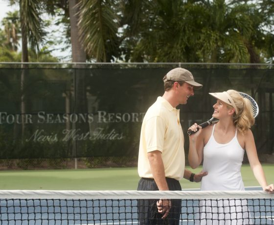 Wedding & Honeymoon - The Four Seasons Resort Nevis - one of the best tennis resorts for your tennis holidays in St. Kitts & Nevis