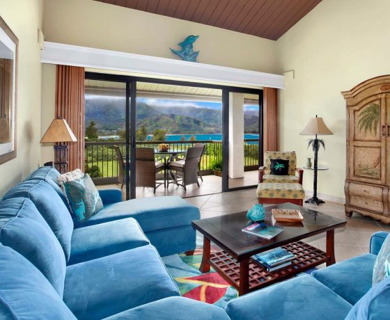 Rooms & suites - The Hanalei Bay Resort - one of the best tennis resorts for your tennis holidays in Hawaii
