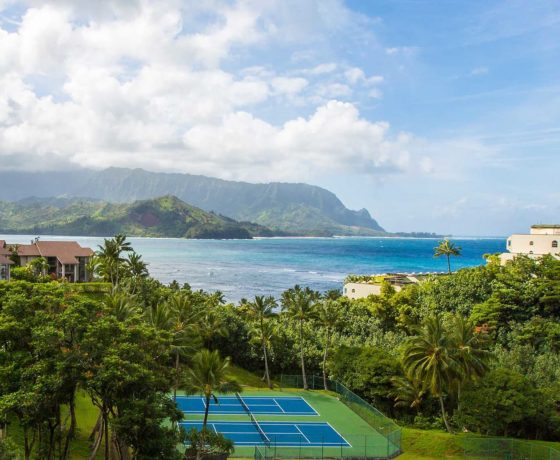 Tennis Program - The Hanalei Bay Resort - one of the best tennis resorts for your tennis holidays in Hawaii