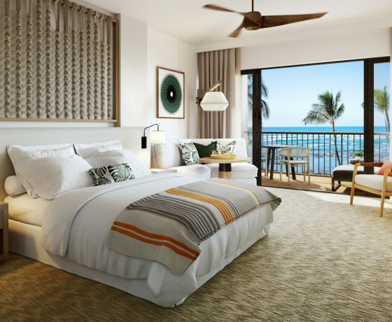 Rooms & Suites - The Mauna Lani Bay Hotel & Bungalows - one of the best tennis resorts for your tennis holidays in Hawaii