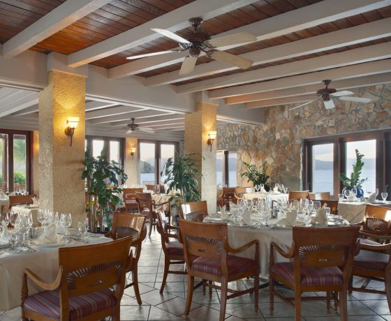Restaurants & Bars - The Peter Island Resort and Spa - one of the best tennis resorts for your tennis holidays in British Virgin Islands