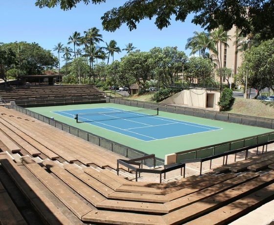Tennis Program - The Royal Lahaina Resort - one of the best tennis resorts for your tennis holidays in Hawaii