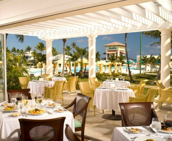 Restaurants & Bars - Sandals Emerald Bay - one of the best tennis resorts for your tennis holidays in Bahamas