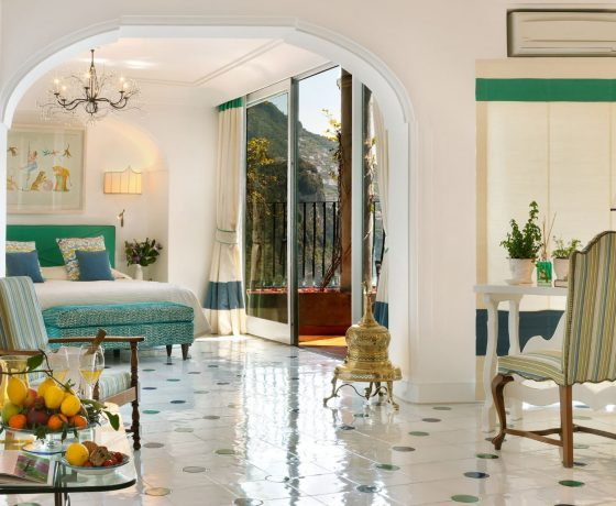 Rooms & Suites - Il San Pietro di Positano - one of the best tennis resorts for your tennis holidays in Italy