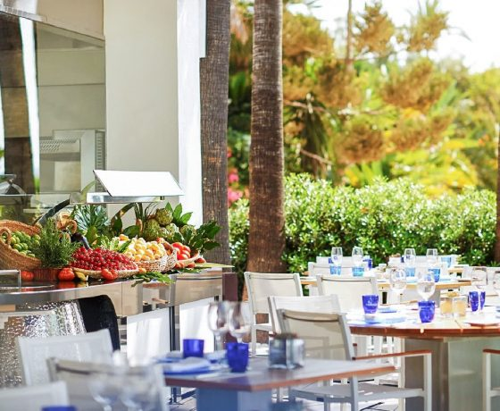 Restaurants & Bars - Puente Romano Beach Resort - one of the best tennis resorts for your tennis holidays in Marbella (Spain)