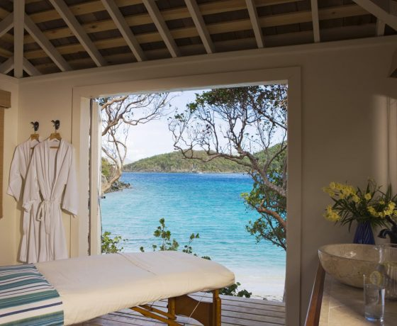 Spa & Wellness - The Caneel Bay Resort - one of the best tennis resorts for your tennis holidays in U.S. Virgin Island