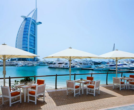 Restaurants & Bars - Jumeirah Beach Hotel - one of the best tennis resorts for your tennis holidays in Dubai ( UAE )