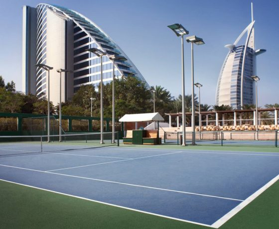 Tennis Program - Jumeirah Beach Hotel - one of the best tennis resorts for your tennis holidays in Dubai ( UAE )