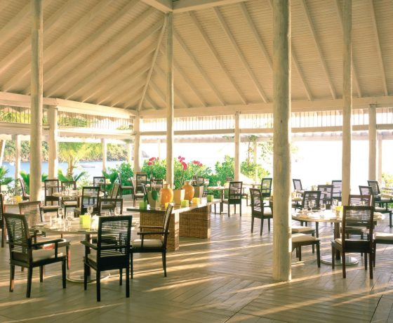Restaurants & Bars - Carlisle Bay Resort - one of the best tennis resorts for your tennis holidays in Antigua (USA)