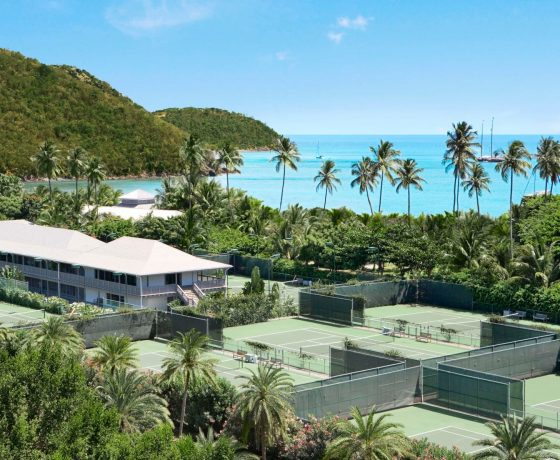 Tennis Program - Carlisle Bay Resort - one of the best tennis resorts for your tennis holidays in Antigua (USA)