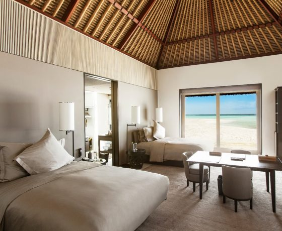 Rooms & Suites at Cheval Blanc Randheli - one of the best tennis resorts for your tennis holidays in Maldives