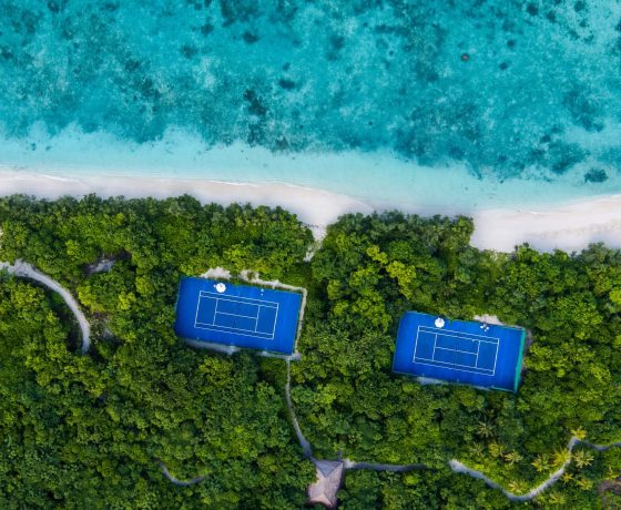 Tennis Program at Cheval Blanc Randheli - one of the best tennis resorts for your tennis holidays in Maldives