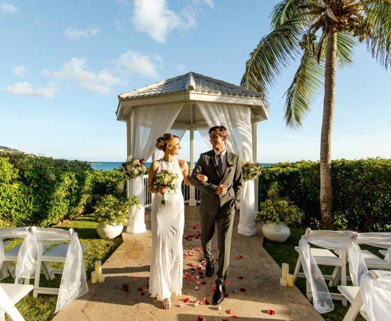 Wedding & Honeymoon - Frenchman Reef & Morning Star Marriott Beach - one of the best tennis resorts for your tennis holidays in U.S. Virgin Island