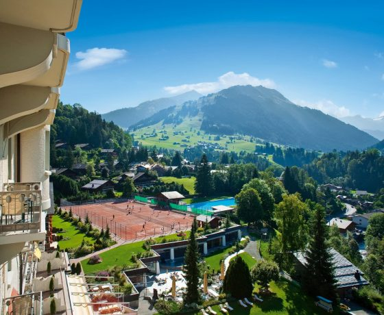 Tennis Program - Gstaad Palace Hotel Switzerland - one of the best tennis resorts for your tennis holidays in Switzerland