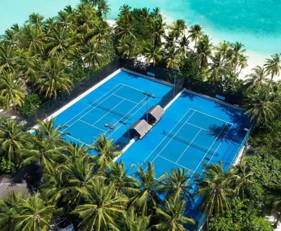Tennis Program - One & Only Reethi Rah - one of the best tennis resorts for your tennis holidays in Maldives.