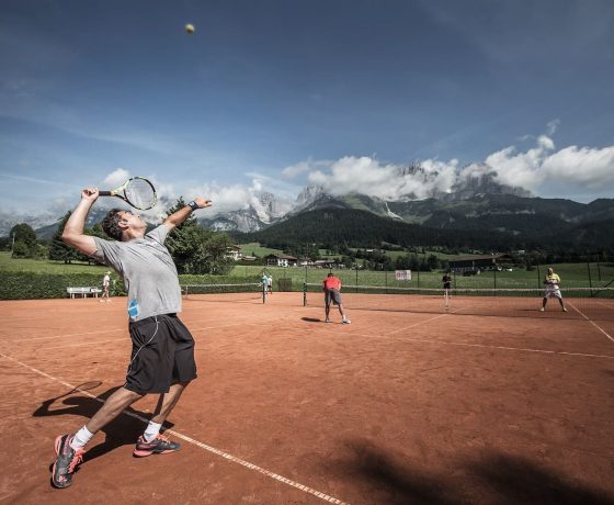 Tennis Program - Stanglwirt Bio-Hotel - one of the best tennis resorts for your tennis holidays in Austria