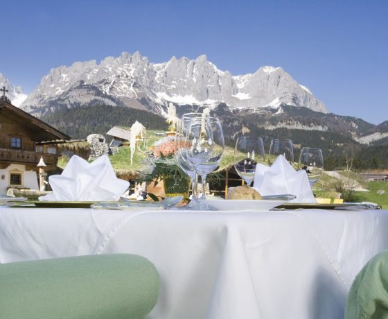 Restaurants & Bars - Stanglwirt Bio-Hotel - one of the best tennis resorts for your tennis holidays in Austria