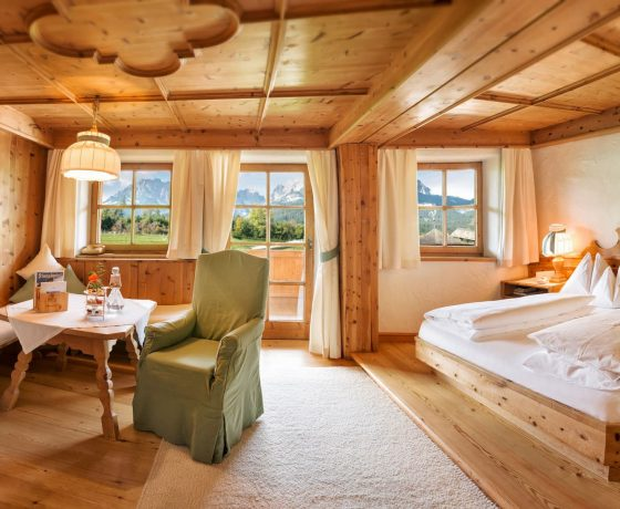 Rooms & Suites - Stanglwirt Bio-Hotel - one of the best tennis resorts for your tennis holidays in Austria