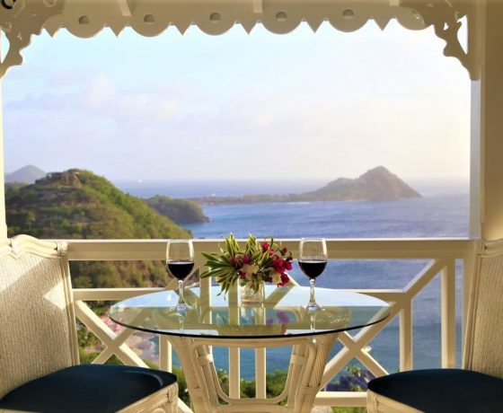 Wedding & Honeymoon - Tamarind House - St. Lucia - one of the best tennis resorts for your tennis holidays in North America