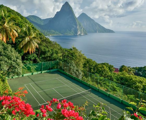 Tennis Program - Tamarind House - St. Lucia - one of the best tennis resorts for your tennis holidays in North America