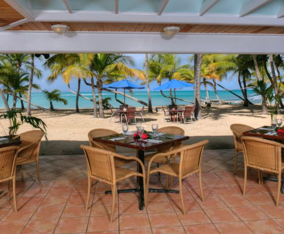 Restaurants & Bars - The Buccaneer St. Croix - one of the best tennis resorts for your tennis holidays in U.S. Virgin Island