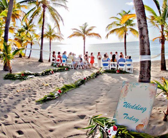 Wedding & Honeymoon - The Buccaneer St. Croix - one of the best tennis resorts for your tennis holidays in U.S. Virgin